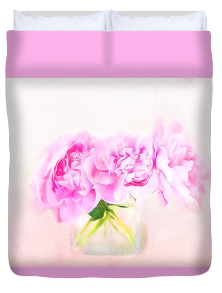 Romantic Gesture Duvet Cover by Andrea Kollo