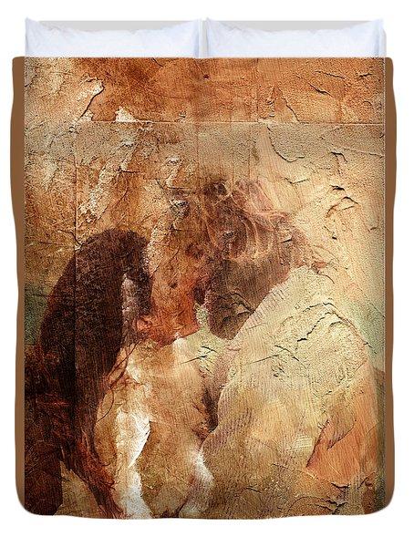 Romantic Kiss Duvet Cover