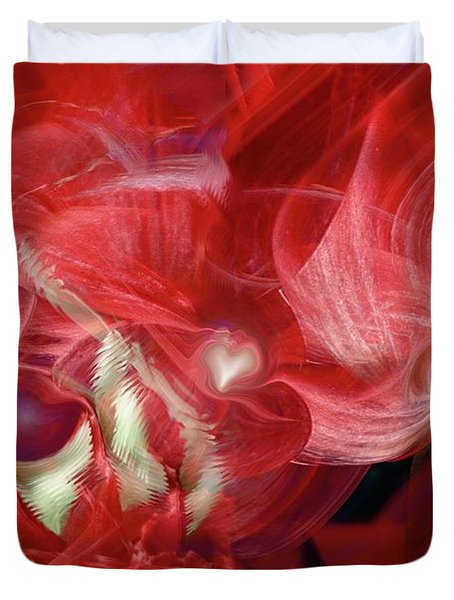 Romantic Love Duvet Cover