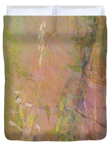Romantic Rainbow Duvet Cover