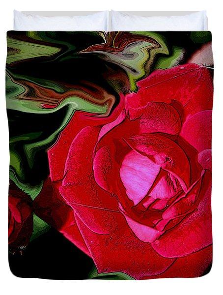 Romantic Rose Duvet Cover