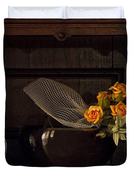 Romantic Still Life Duvet Cover