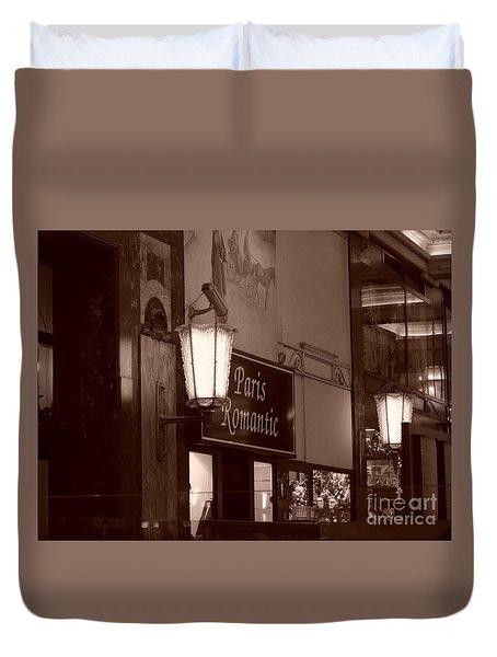 Romantica Parigi Duvet Cover
