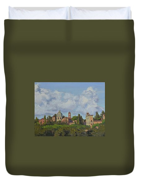Rome Afternoon Duvet Cover