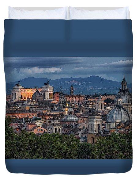 Rome Twilight Duvet Cover