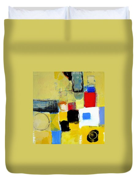 Duvet Cover featuring the painting Ron The Rep by Cliff Spohn