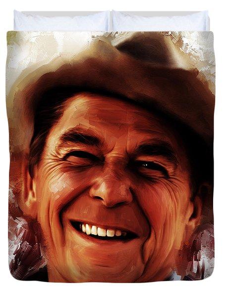 Ronald Reagan  Duvet Cover