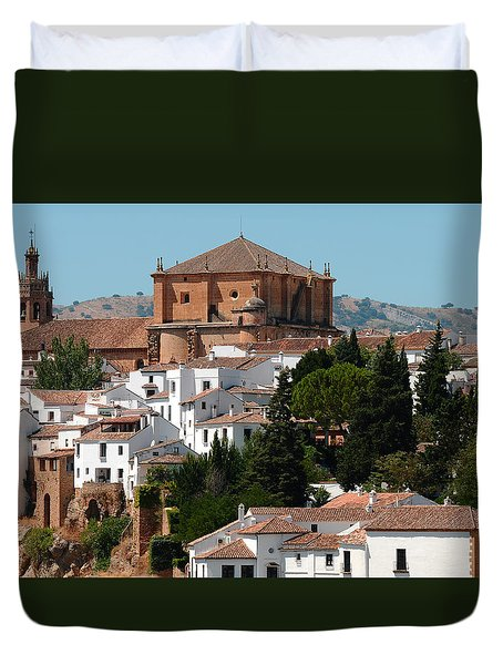 Ronda. Andalusia. Spain Duvet Cover