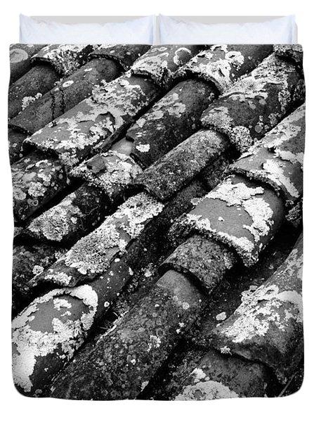 Roof Tiles Duvet Cover by Gaspar Avila