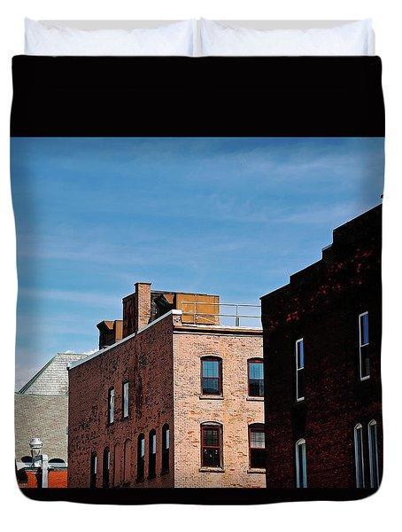 Rooflines No. 2 Duvet Cover