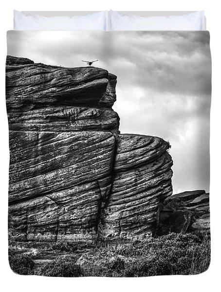 Rook Rock Duvet Cover