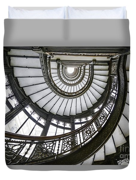 Rookery Stairway Duvet Cover