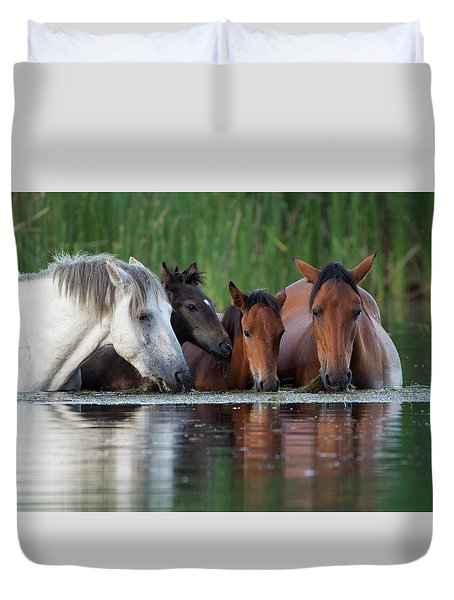 Room For All Duvet Cover by Sue Cullumber