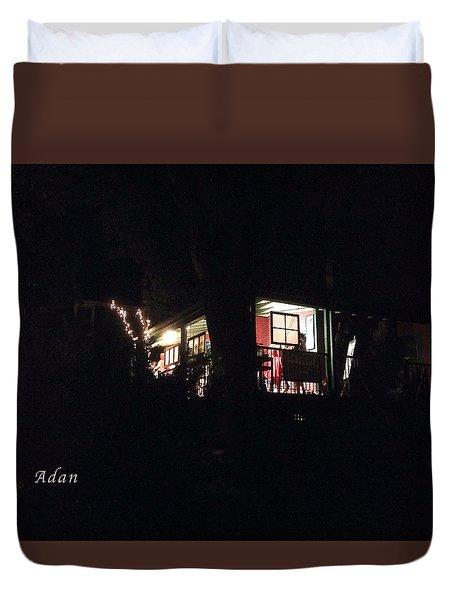 Room In The Sky Duvet Cover by Felipe Adan Lerma