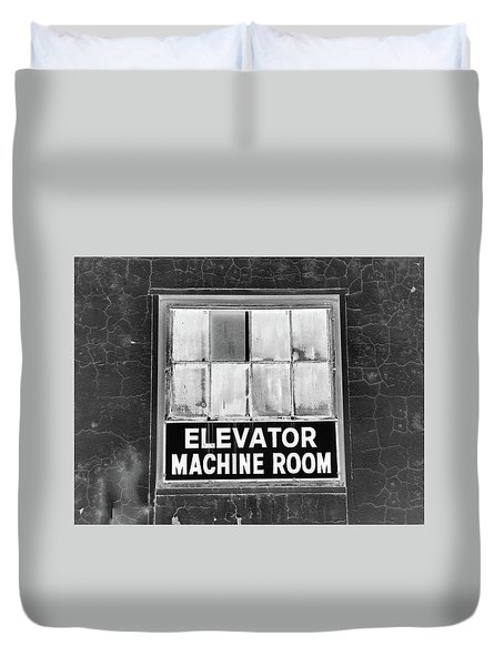 Duvet Cover featuring the photograph Room by Robert Geary