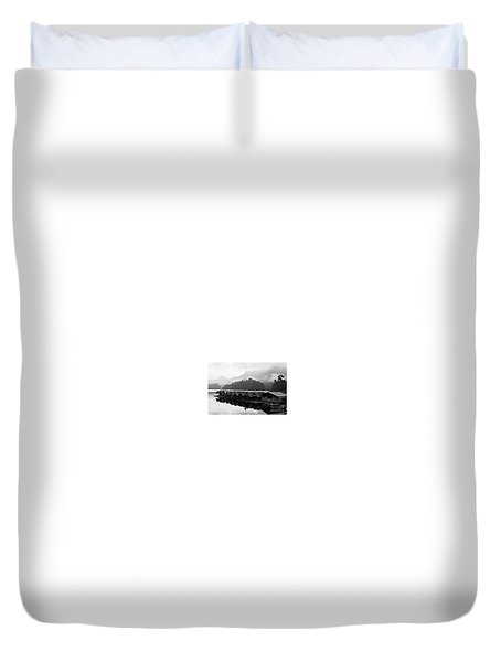 Room With A View - Kho Sok Thailand Duvet Cover