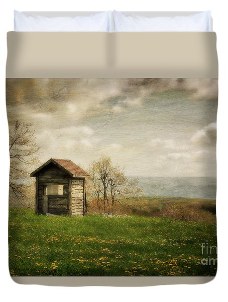 Room With A View Duvet Cover by Lois Bryan