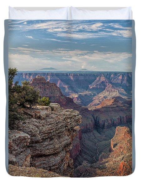 Canyon Below Duvet Cover