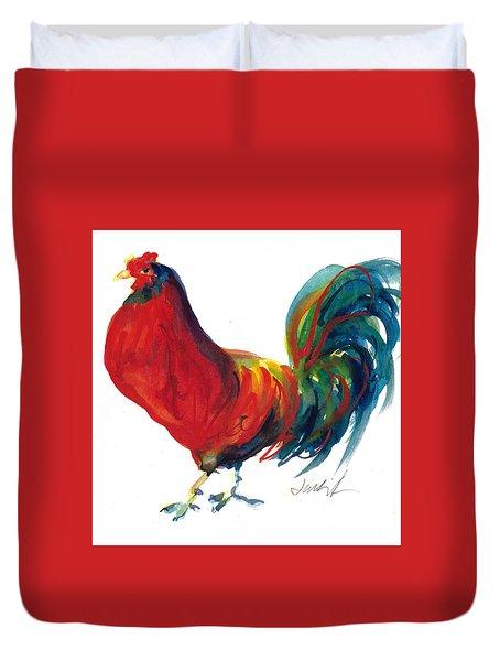 Rooster - Little Napoleon Duvet Cover