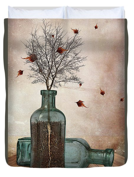 Rooted Duvet Cover by Mihaela Pater