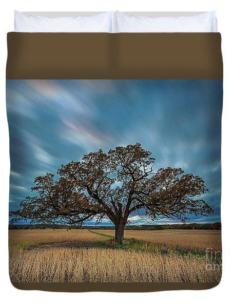 Rooted Waukesha Duvet Cover