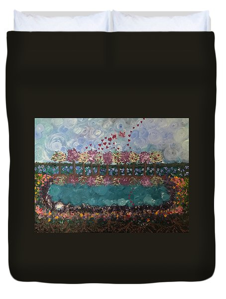 Roots And Wings Duvet Cover