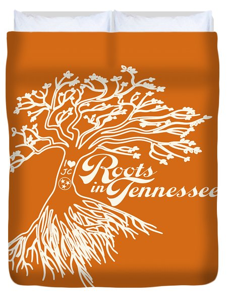 Roots In Tennessee Duvet Cover