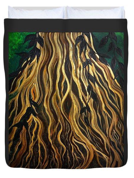 Roots Duvet Cover