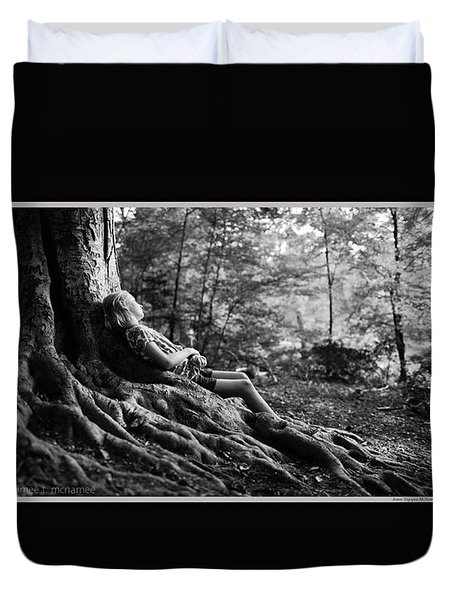 Roots Of Contemplation Duvet Cover