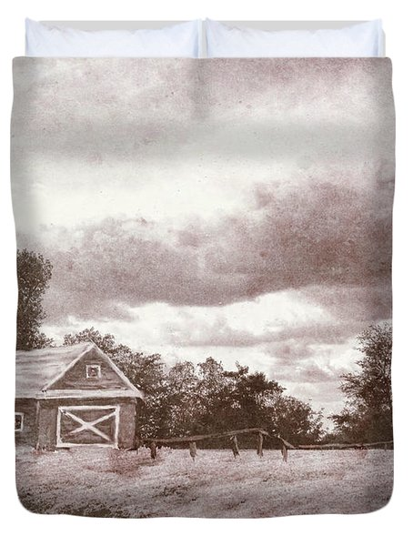 Roots Of The Farmer Duvet Cover