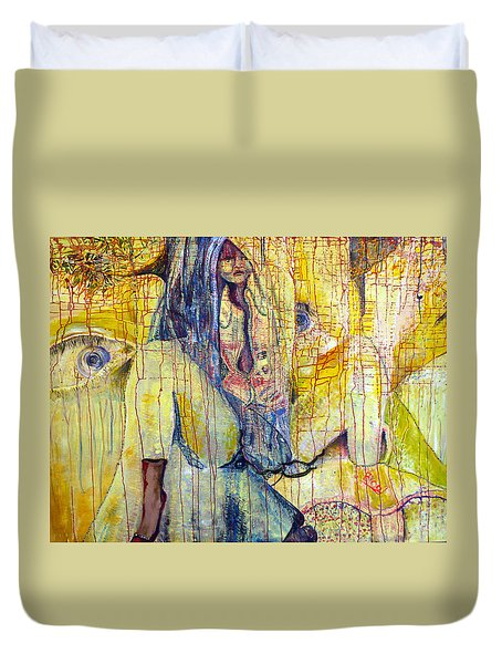 Roots  Duvet Cover by Peggy  Blood