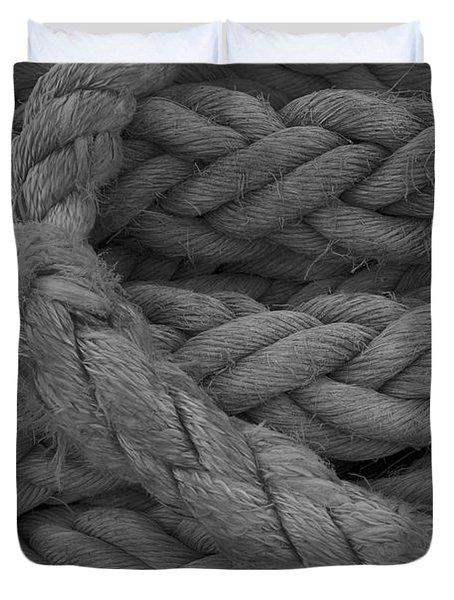 Rope I Duvet Cover