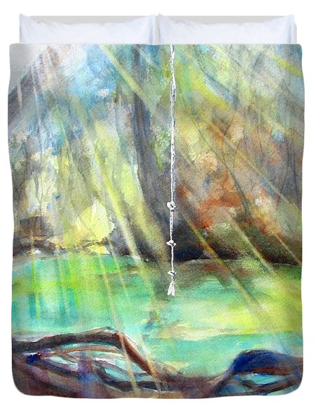 Rope Swing Duvet Cover