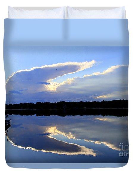 Rorschach Reflection Duvet Cover