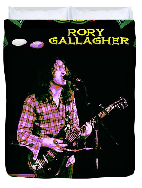 Rory Messin' With The Kid 2 Duvet Cover by Ben Upham