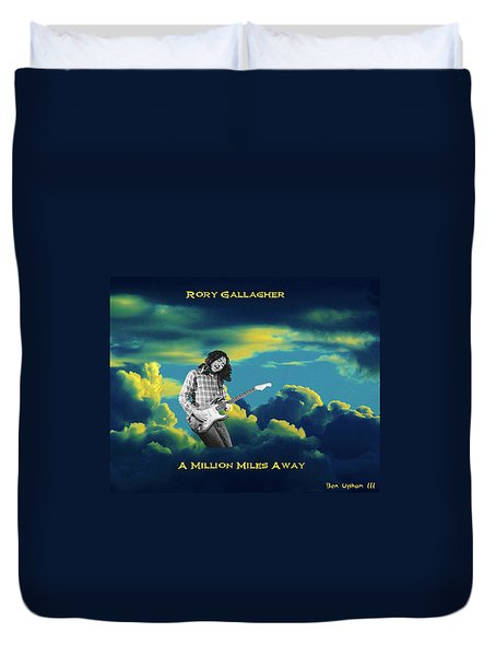 Million Miles Away Duvet Cover