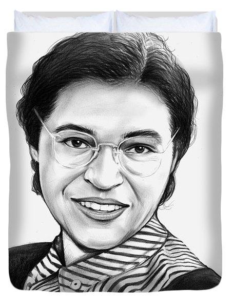 Rosa Parks Duvet Cover