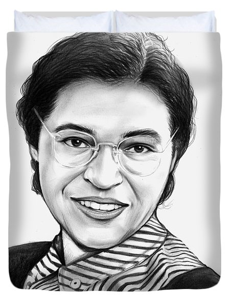 Rosa Parks Drawing By Greg Joens