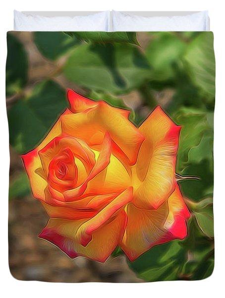 Rosa Peace Duvet Cover
