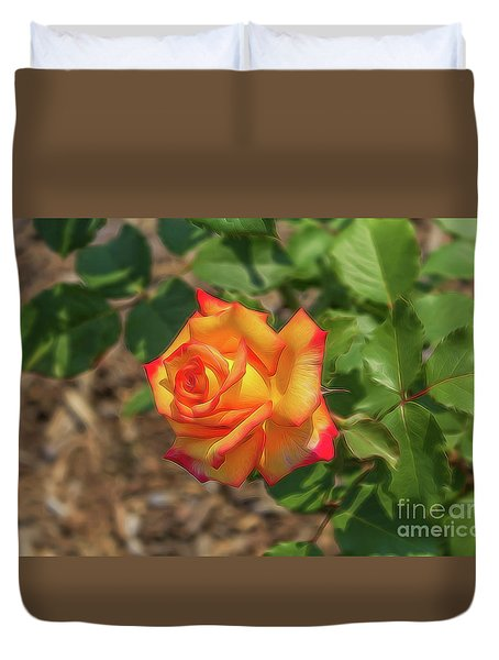 Rosa Peace Duvet Cover