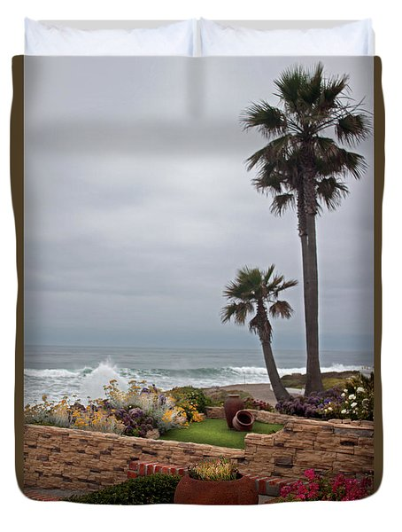 Rosarito Beach Duvet Cover by Ivete Basso Photography