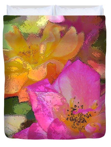 Rose 114 Duvet Cover