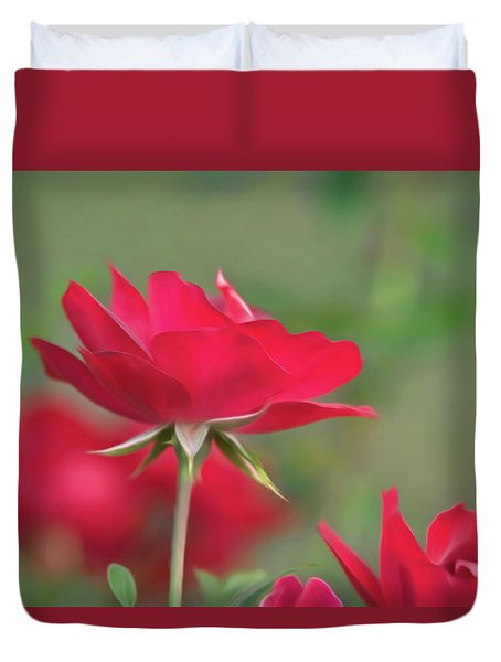 Rose 4 Duvet Cover