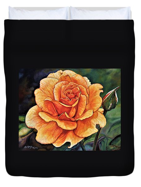 Rose 4_2017 Duvet Cover