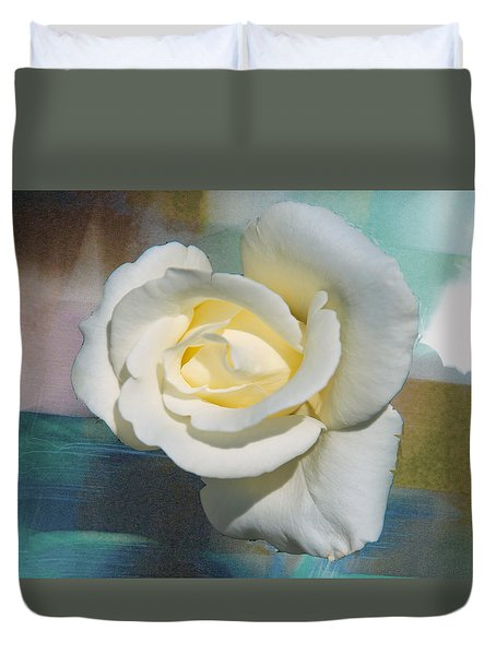 Rose And Lights Duvet Cover