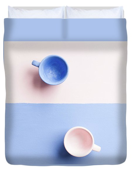 Rose And Serenity IIi Duvet Cover