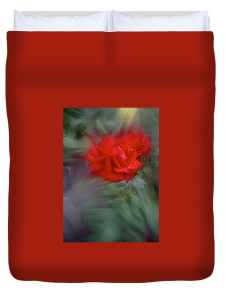 Duvet Cover featuring the photograph Rose Aug 2016 by Richard Cummings