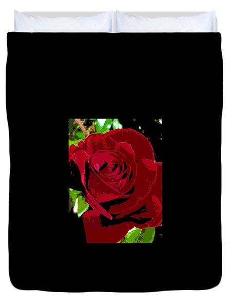 Rose Bloom Duvet Cover by Matthew Bamberg
