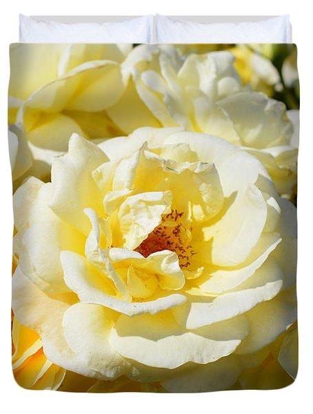 Rose Bush Duvet Cover