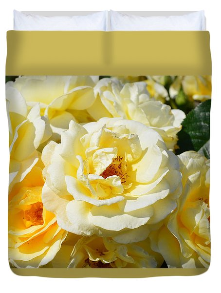 Rose Bush Duvet Cover